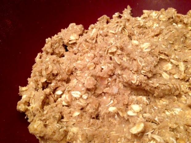 oatmeal cinnamon cookies dough 2