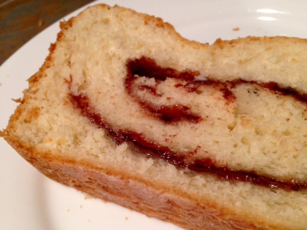 Cinnamon Swirl Bread – finding time for cooking
