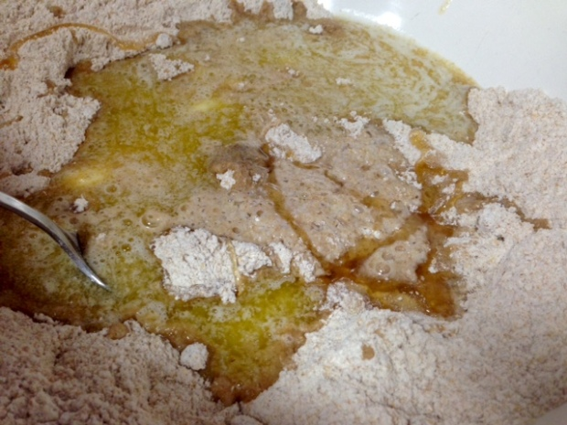 slightly sweet unleavened bread wet ingredients