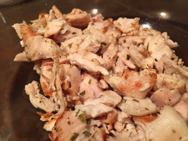 lemon almond chicken salad chicken cooked