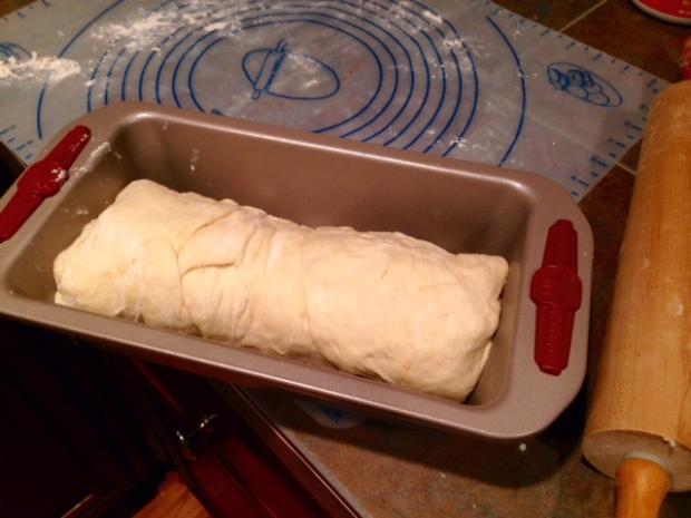 cinnamon swirl bread loaf rolled