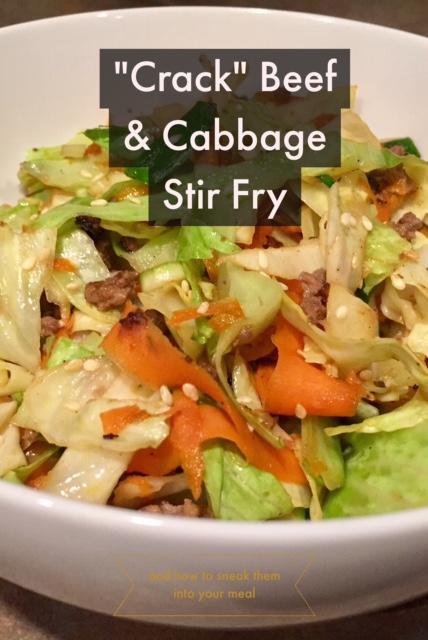 """Crack"" Beef & Cabbage Stir Fry"