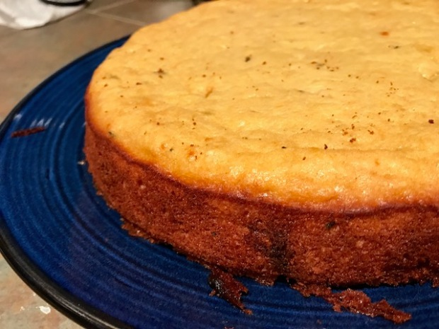 Yogurt & Honey Olive Oil Cake with Lemon & Thyme...one bowl, easy cleanup, moist with subtle flavors